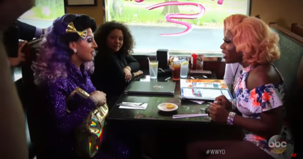 Diners Defend Drag Queen Son From Unsupportive Parents