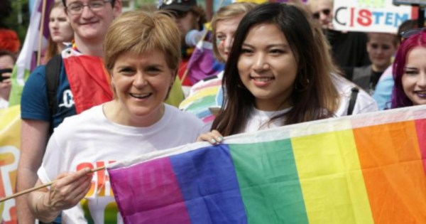 Nicola Sturgeon Becomes First UK Official To Lead Pride