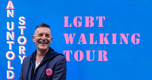 Tonie Walsh's Walking Tour