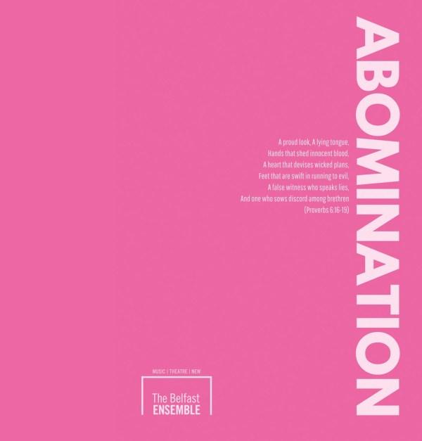 Abominaiton poster