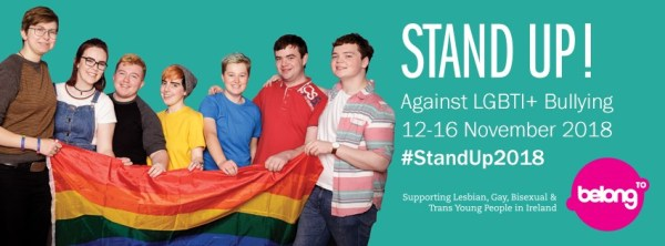 stand up poster against anti-lgbt bullying