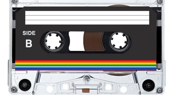 A picture of a cassette tape with 'Side B' written on the side.