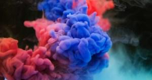 A creative burst of colours