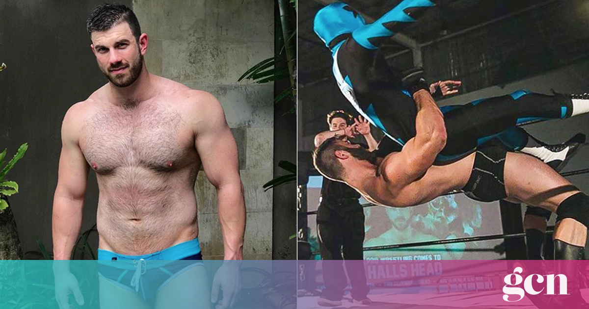 Gay wrestler gives profits of homemade porn to LGBT+ suicide prevention charities