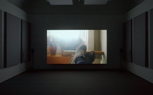 A screening of Charlotte Prodger's 'Bridgit', which was filmed on an iPhone.