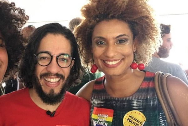 Jean Wylys and Marielle Franco