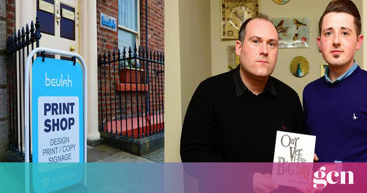 Louth company ordered to pay gay man €2,500 after refusing to print invites for civil ceremony