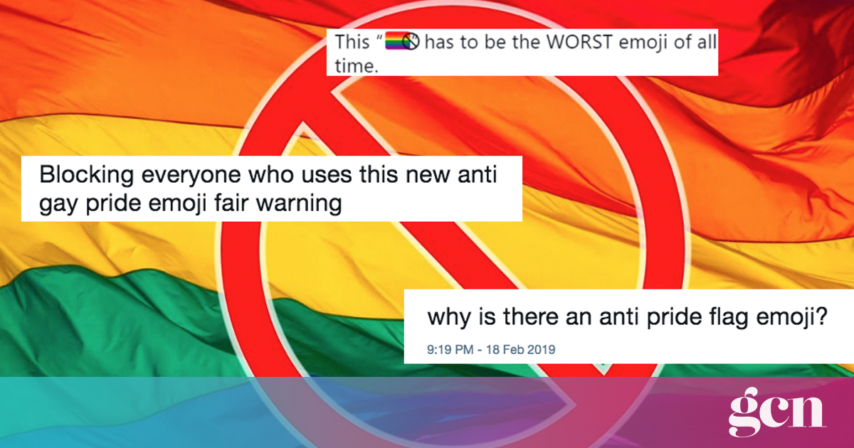 People Are Mad After Anti-Pride Emoji Trends On Twitter