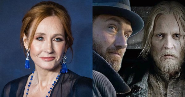 JK Rowling, Dumbledore and Grindelwald