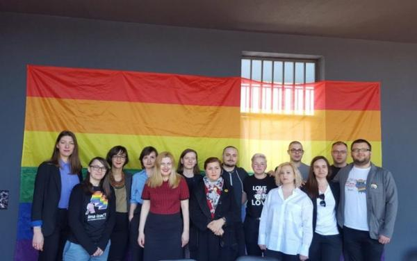 The Bosnia organising committee of BiH Pride March