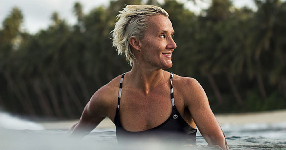 First Lesbian World Champion Surfer Wins Major Title Gcn See more ideas about surfer, surfer girl, surf girls. first lesbian world champion surfer