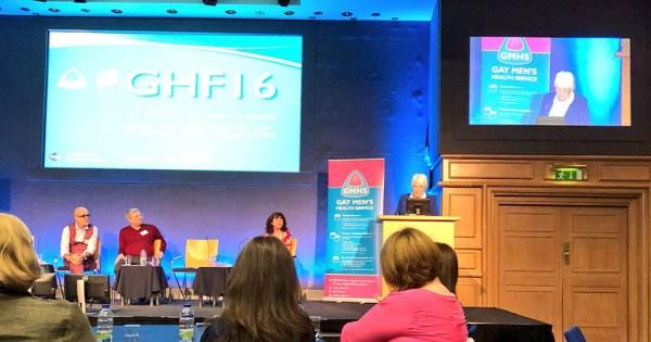 Speakers at Gay Health Forum 2016