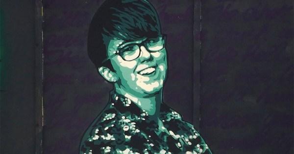 Mural of Lyra McKee