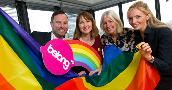 Ulster Bank partners with BeLonG To Youth Services to raise funds for vital LGBT+ services