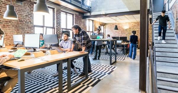 generic modern workplace