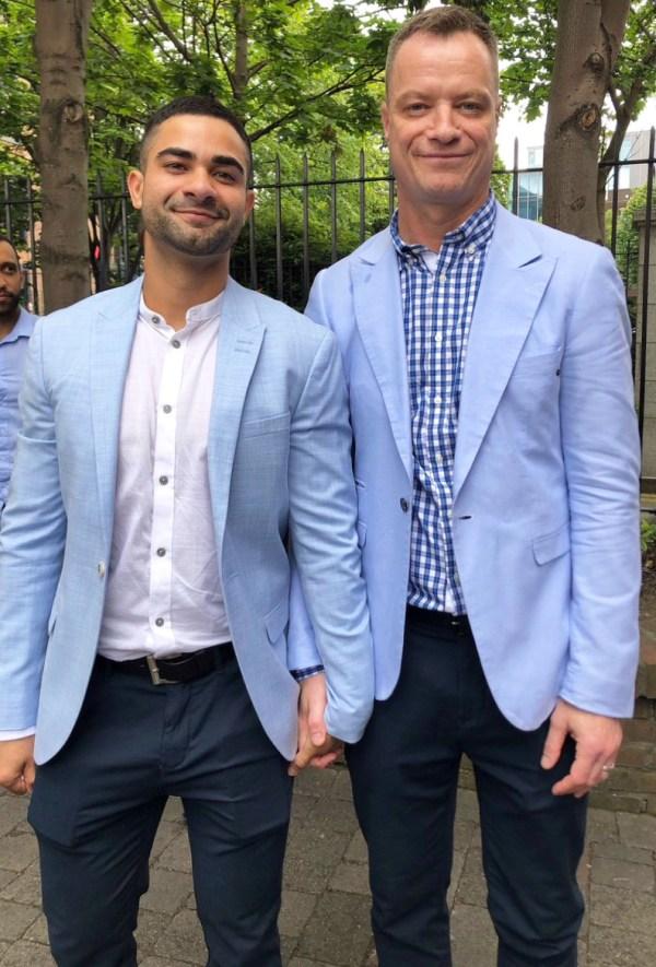 Rory O'Neill and husband Anderson Cabrera