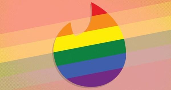 LGBT+ Tinder logo