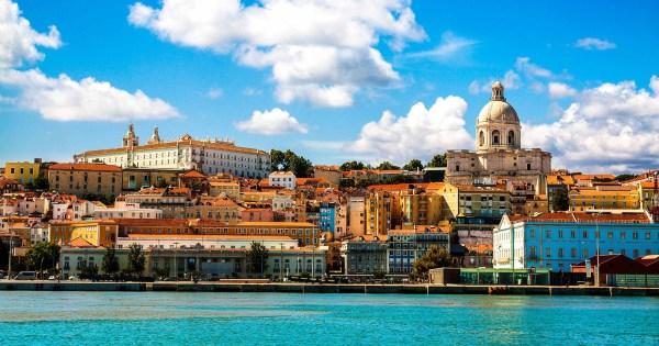 one of the top LGBT+ friendly destinations - Lisbon harbour