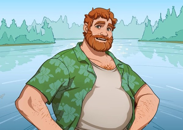 "Character from the game ""Dream Daddy"""