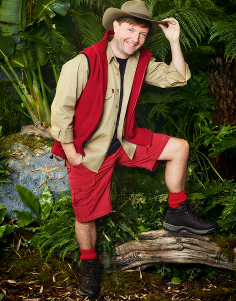 "Andrew Maxwell appearing on ITV's ""I'm A Celebrity... Get Me Out Of Here!"""