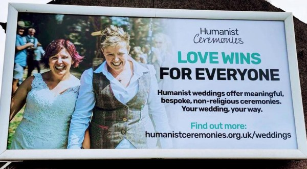 First same-sex marriage billboards unveiled in Northern Ireland
