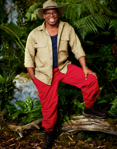 """Ian Wright MBE appearing on ITV's """"I'm A Celebrity... Get Me Out Of Here!"""""""