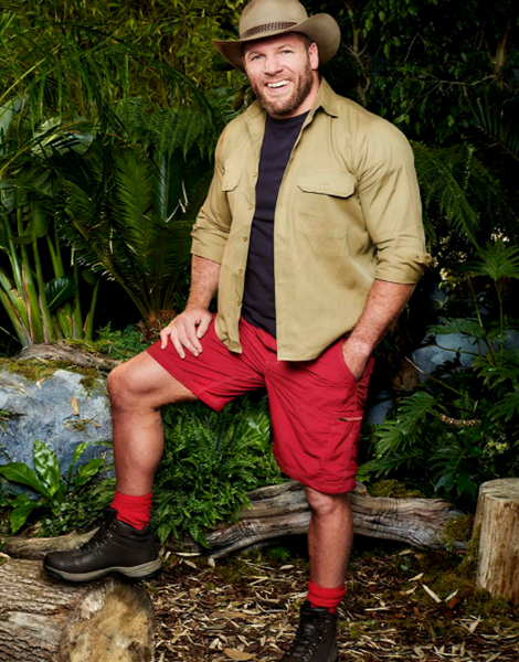 "James Haskell appearing on ITV's ""I'm A Celebrity... Get Me Out Of Here!"""