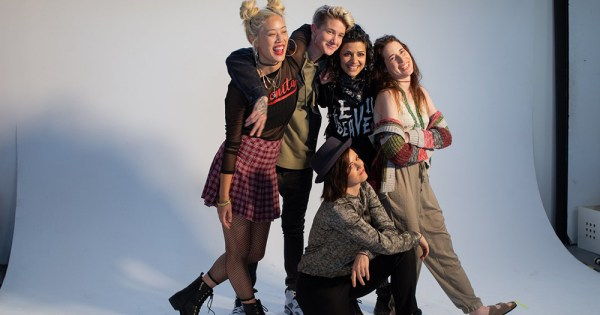 """The Fierce Five from new show """"Butch Pal for the Straight Gal"""""""
