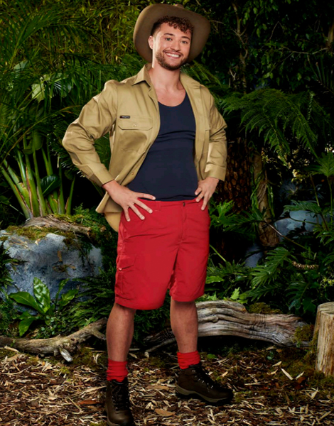 "Myles Stephenson appearing on ITV's ""I'm A Celebrity... Get Me Out Of Here!"""
