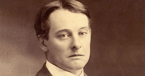 Old style picture of a man gazing sideways at the camera, looking distrustful. It is Bosie.