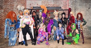 RuPauls Drag Race season 12 contestants posing for a picture.