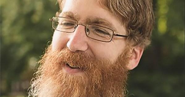 Close-up of Jon Hanna smiling