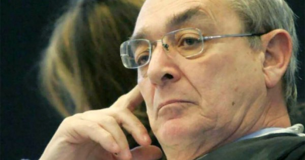 Lawyer Carlo Taormina during job discrimination court case