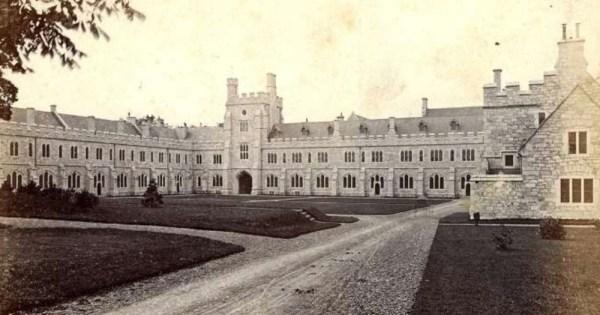 ancient LGBTQ+ history old photo of cork university, mapping LGBTQ+ university
