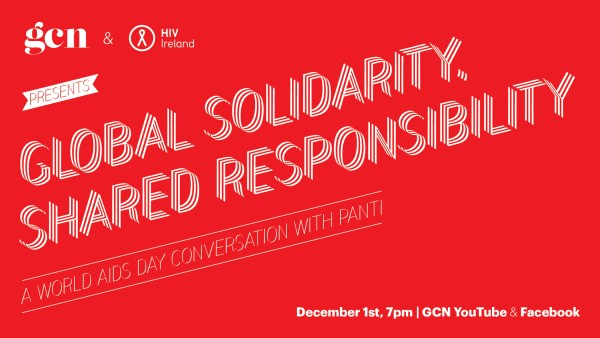 2020 World AIDS Day event poster