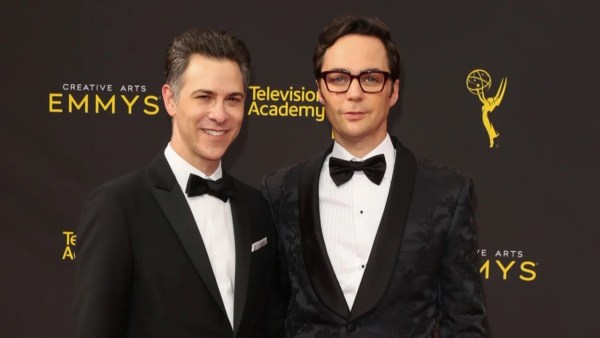 Jim parsons and Todd Spiewek