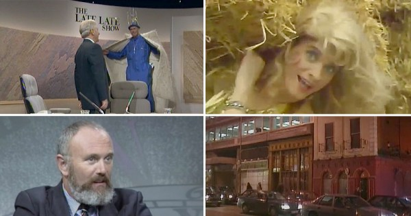 Four images from From RTÉ queer Archives: