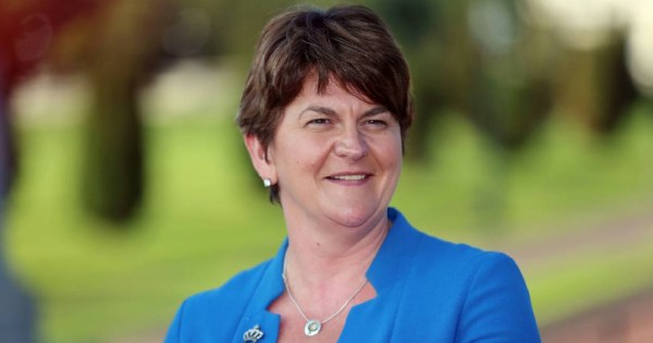 Portrait of Arlene Foster: Cancels meet with LGBTQ+ groups