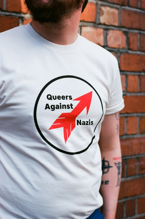 Protest Collection: Queers against Nazis tee