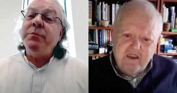 split screen of Cathal Kerrigan (L) and Edmund Lynch (R)
