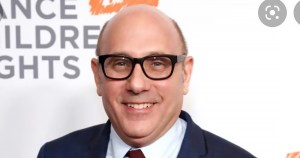 Close-up of actor Willie Garson smiling