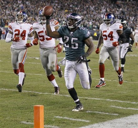 2011 NFL Offseason:  A Closer Look At The Eagles Running Backs