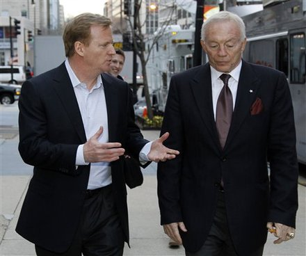 When Will Goodell Or An Owner Be Asked About The $4 Billion Dollar War Chest?