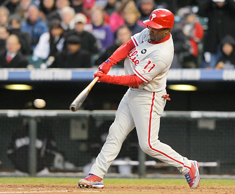 Phillies Bench Coach Says Cold Weather Is Reason For Struggling Offense