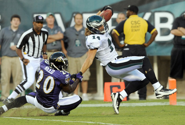 Where Does Riley Cooper Fit In, When Steve Smith Gets Healthy?