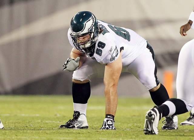 Current Eagles Offensive Line:  Too Many Question Marks?