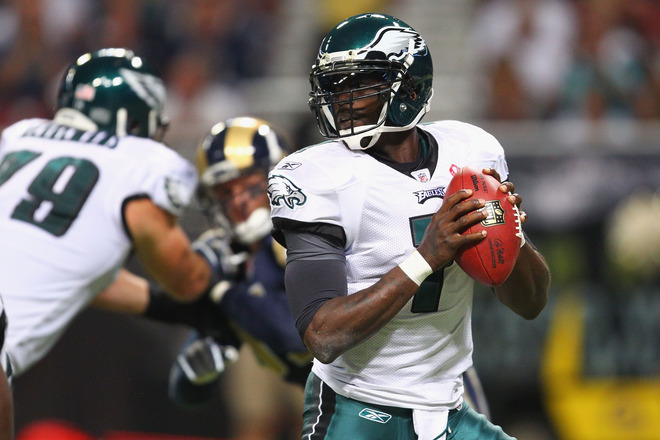 Vick Must Be Willing To Take Short Throws Versus The Blitz