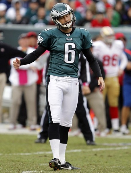 Rookie Kicker Henery Misses Two Easy Field Goals, As Akers Watches