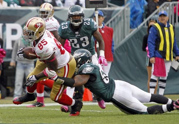 Eagles Defense Crumbles: 3rd 2nd Half Possession – 5 Play, 77-Yard TD Drive