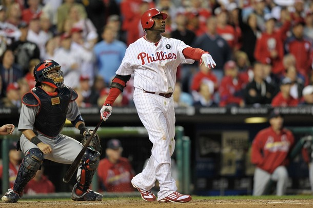 Howard, Phillies Offense Bails Out Halladay In Game 1